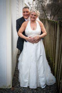 Bride and Groom - Washington Wedding